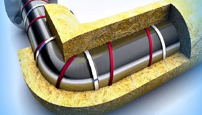 Система теплоизоляции трубопровода