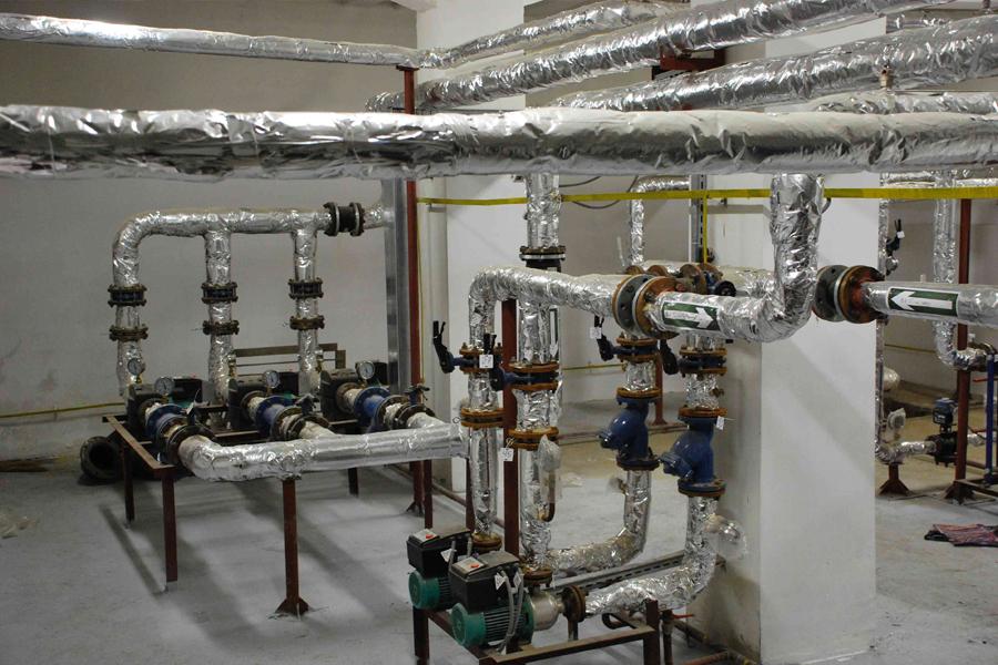 Техническое обслуживание индивидуальных тепловых пунктов