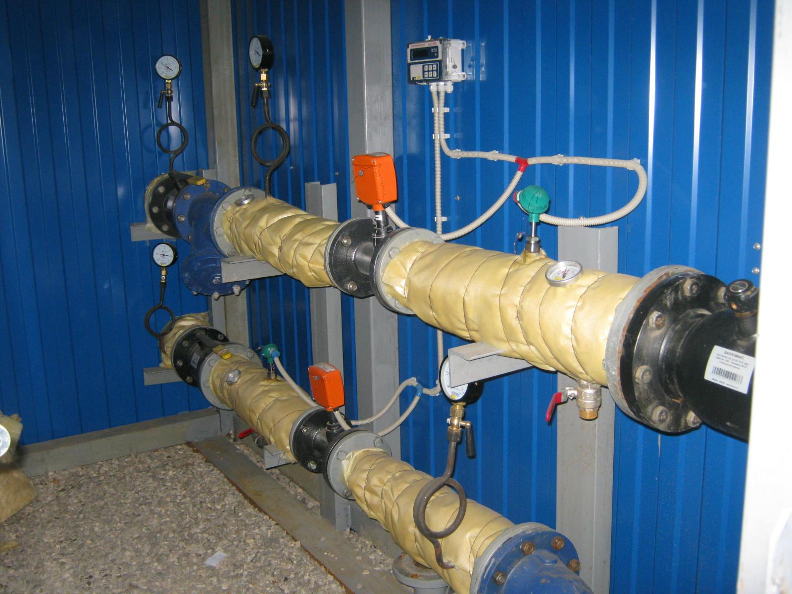 Проектирование и монтаж узлов учета тепловой энергии